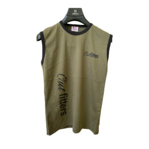 Summer T-Shirt Yes It Outfitters Clothing Round Neck Sleeveless T-Shirt Top Big guy Men's Clothing Casual Cotton Printed T-Shirt
