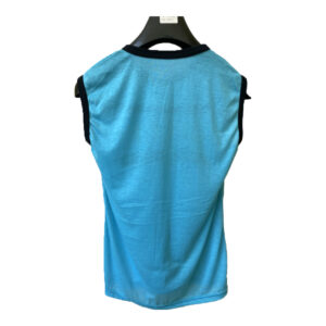 Summer T-Shirt Yes It Gucci Clothing Round Neck Sleeveless T-Shirt Top Big guy Men's Clothing Casual Cotton Printed T-Shirt